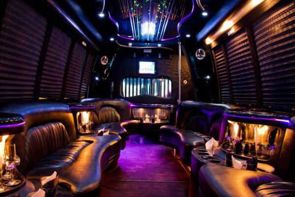 15 person party bus rental Dallas