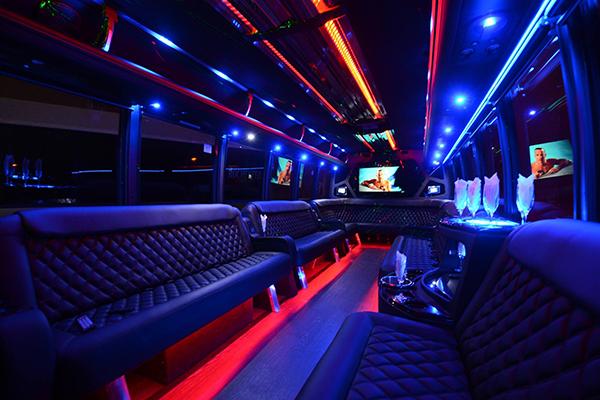 40 passenger party bus rental Dallas